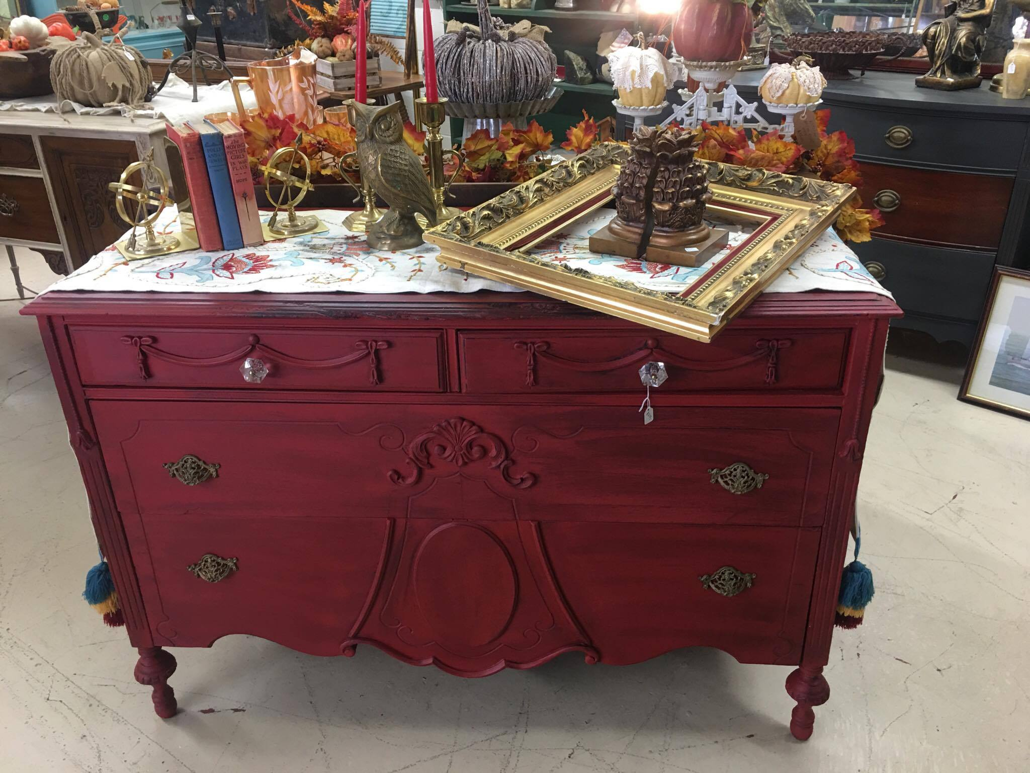 Vintage Antique Custom Furniture The Red